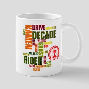 Kamen Rider Club All Kamen Rider Mugs