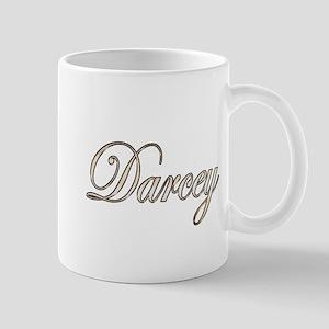 Gold Darcey Mugs