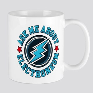 Ask Me About Electroneum Mugs