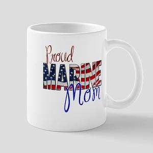 Proud Marine Mom Mugs