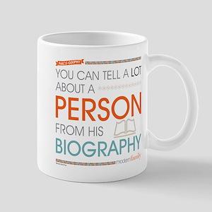 Modern Family Philsosophy Biography Mug
