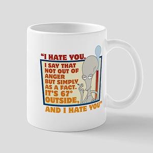American Dad I Hate You Mug