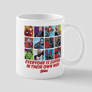 Avengers Everyone is Super Mug