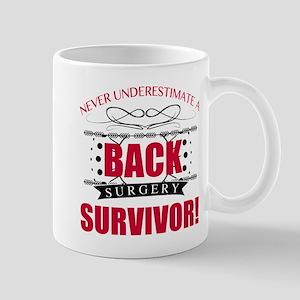 Back Surgery Survivor Mugs