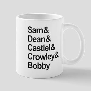 Supernatural Cast Mugs