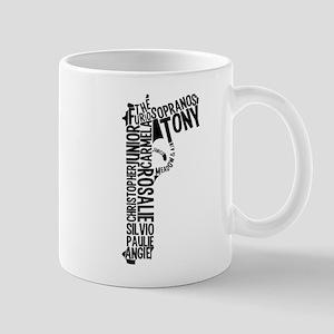 Sopranos Text Mugs