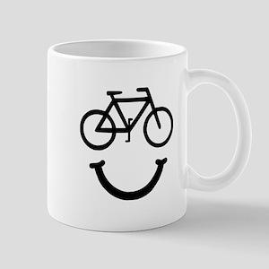 Bike Smile Mugs
