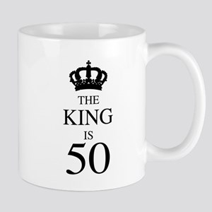The King Is 50 Mugs