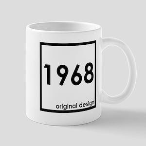 1968 birthday original design year Mugs