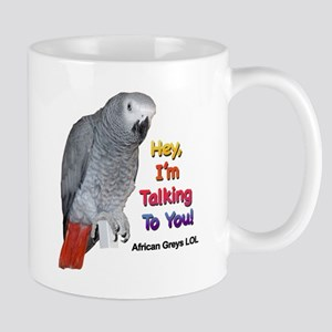 Hey, I'm talking to you! LOL Mug