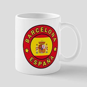Barcelona España Mugs