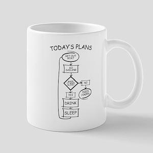 Sailing Humor Flow Chart Mugs