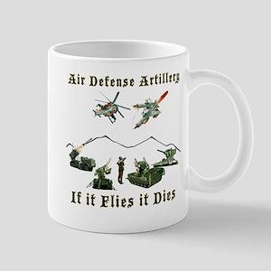 Air Defense Artillery If It Flies It Di Mug