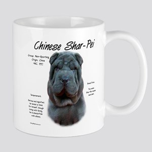 Shar-Pei (blue) 11 oz Ceramic Mug