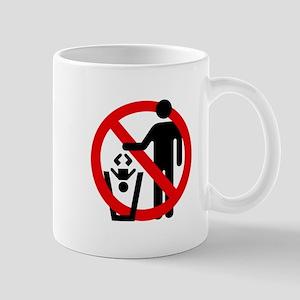 No Trashing Babies Mug