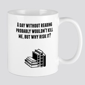 A Day Without Reading Mugs