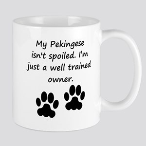 Well Trained Pekingese Owner Mugs