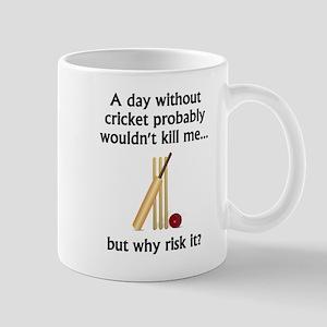 A Day Without Cricket Mugs