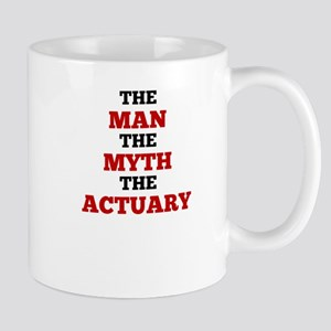 The Man The Myth The Actuary Mugs