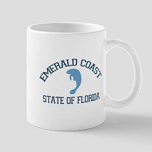Emerald Coast - Manatee Design. Mug