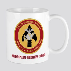 Marine Special Ops Cmd with Text Mug