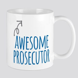 Awesome prosecutor Mugs