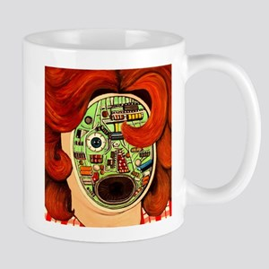 Female Robot Mug