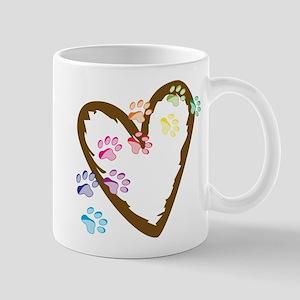 Paw Heart Mug
