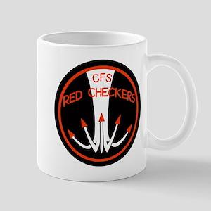 RNZAF Red Checkers Mug