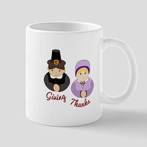Giving Thanks Mugs