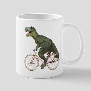 Cycling Tyrannosaurus Rex Mug