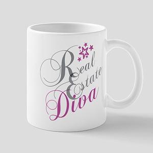 Real Estate Diva Mugs