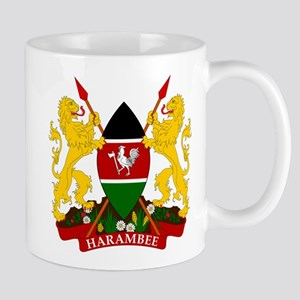 Kenya Coat Of Arms Mug