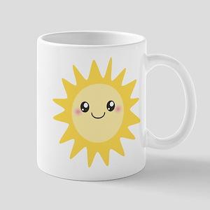 Cute happy sun Mug