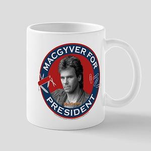 MacGyver For President Mug