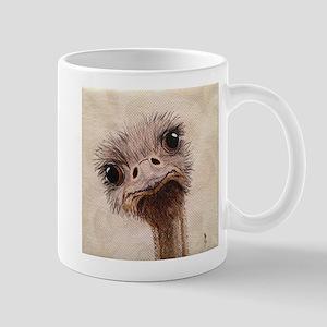 StephanieAM Ostrich Mugs