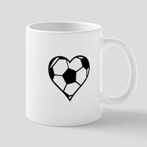 Soccer Heart Mugs