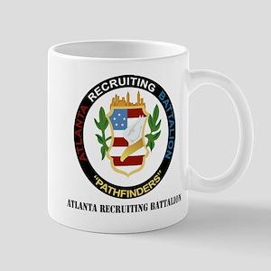 DUI - Atlanta Recruiting Battalion with Text Mug