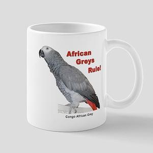 African Greys Rule Mug