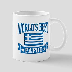 World's Best Papou 11 oz Ceramic Mug