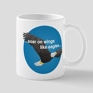 Wings Like Eagles Mug