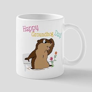 Happy Groundhog Day Mug