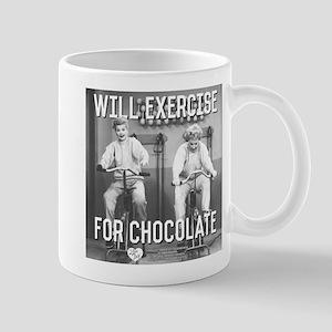 Lucy Ethel Exercise For Chocolat 11 oz Ceramic Mug