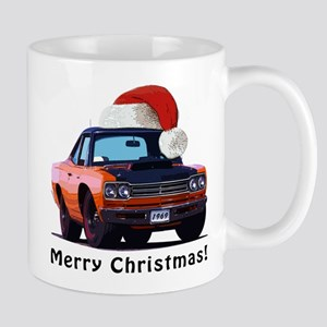 BabyAmericanMuscleCar_69_RoadR_Orange Mugs