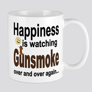 Happiness Is Watching Gunsmoke Mugs