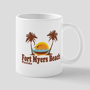 Fort Myers - Palm Trees Design. Mug