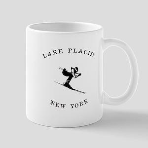 Lake Placid New York Ski Mugs