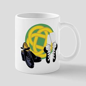 Celtic Knot Irish Shoes Mugs