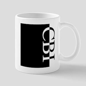 CBI Typography Mug
