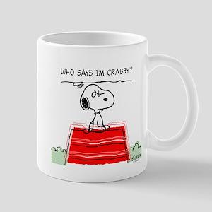 Crabby Snoopy Mug